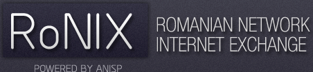 Romanian Network for Internet eXchange - RoNIX